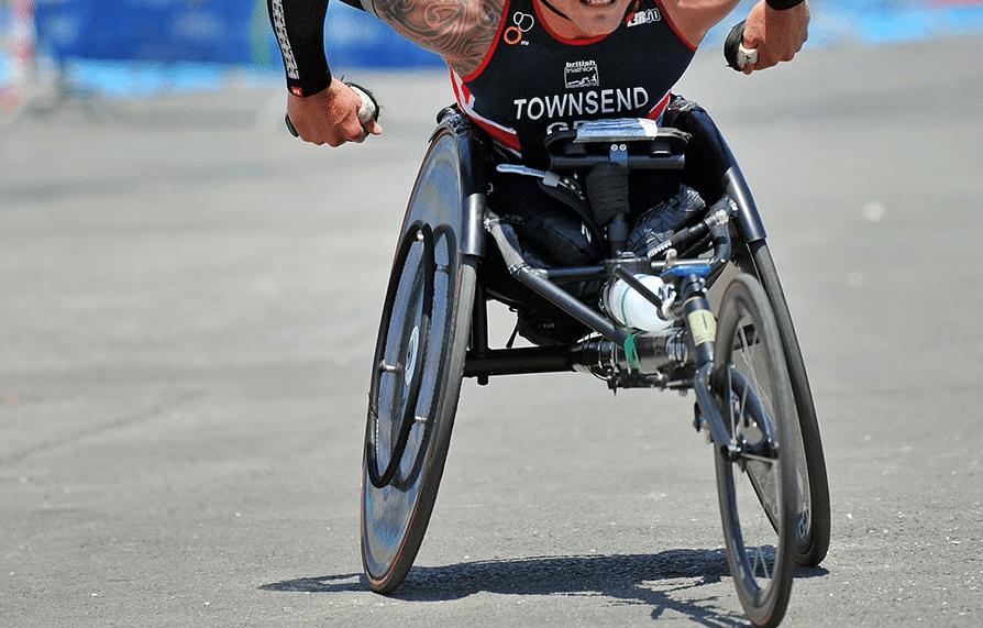 Ahmed Andaloussi en équipe de France de Paratriathlon