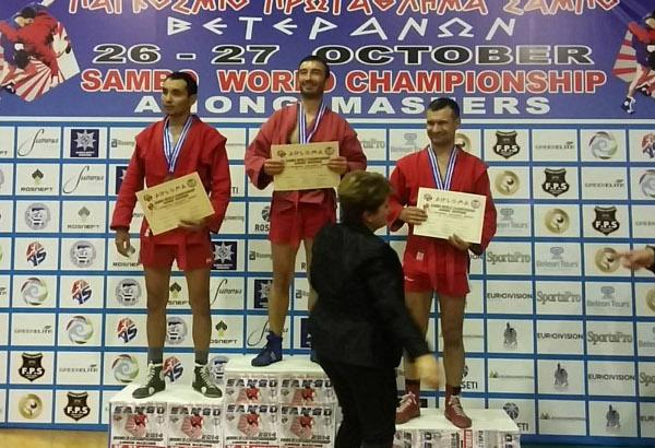 SAMBO – Sylvain ROUYER champion du Monde Master