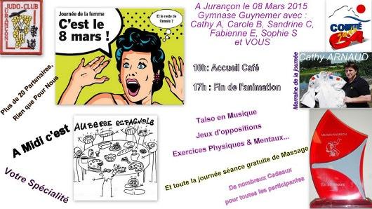JUDO – Journée de la femme le 8 mars