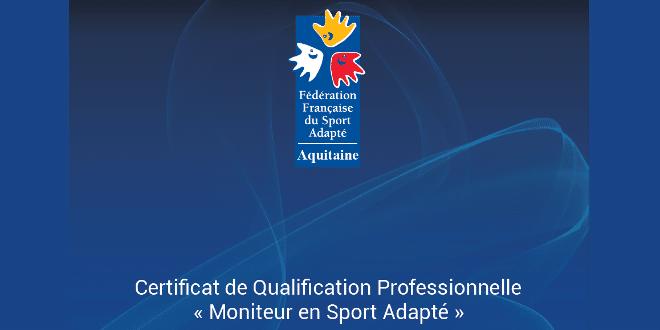 """Nouveau CQP """"Moniteur en Sport Adapté"""" !"""