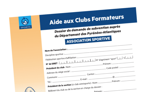 "Campagne ""Clubs formateurs"" 2016"