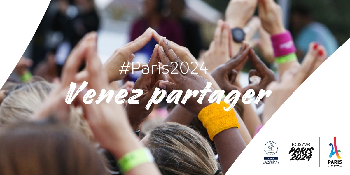 PARIS 2024 #VenezPartager