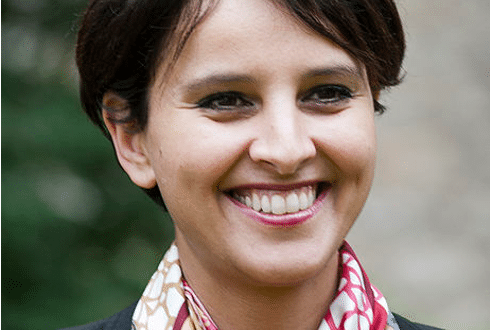 Najat Vallaud Belkacem, ministre en charge des Sports