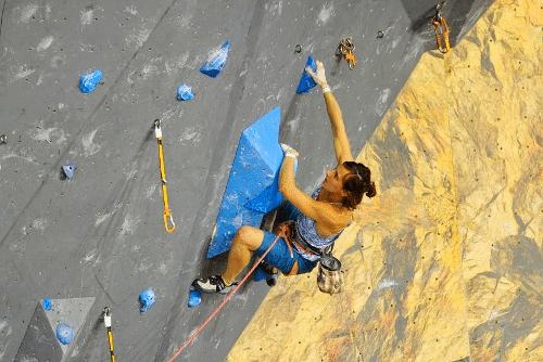 Alizée Dufraisse sélectionnée en équipe de France d'escalade