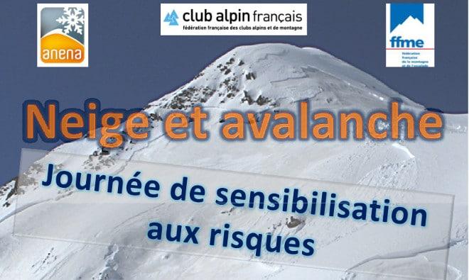 Journée sécurité neige et avalanches le 29 novembre 2014