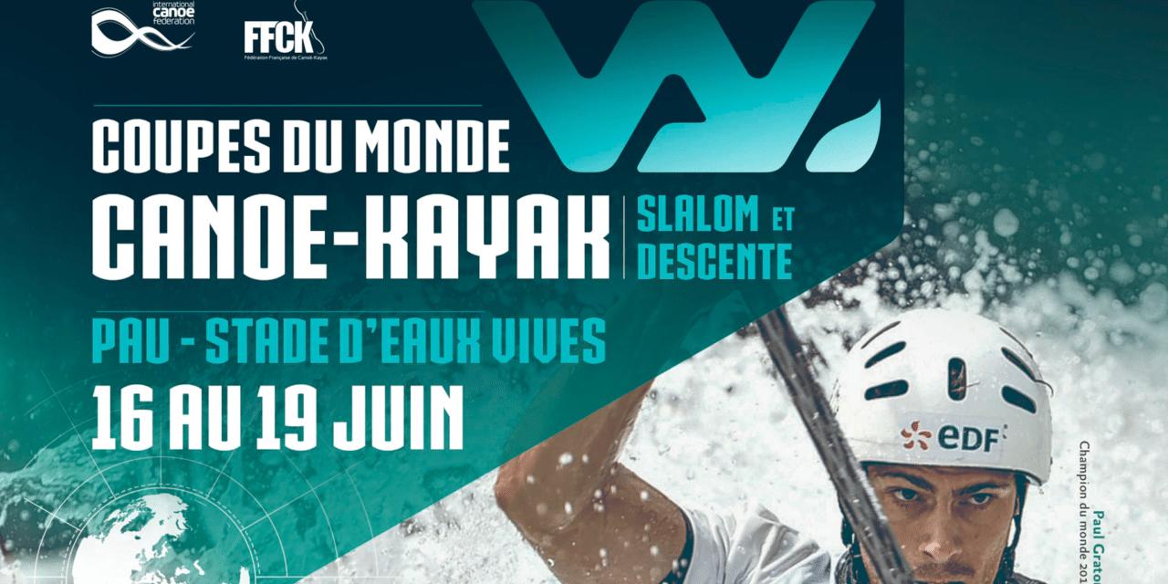 Appel à bénévoles pour la coupe du monde Slalom et Descente de Canoë-Kayak