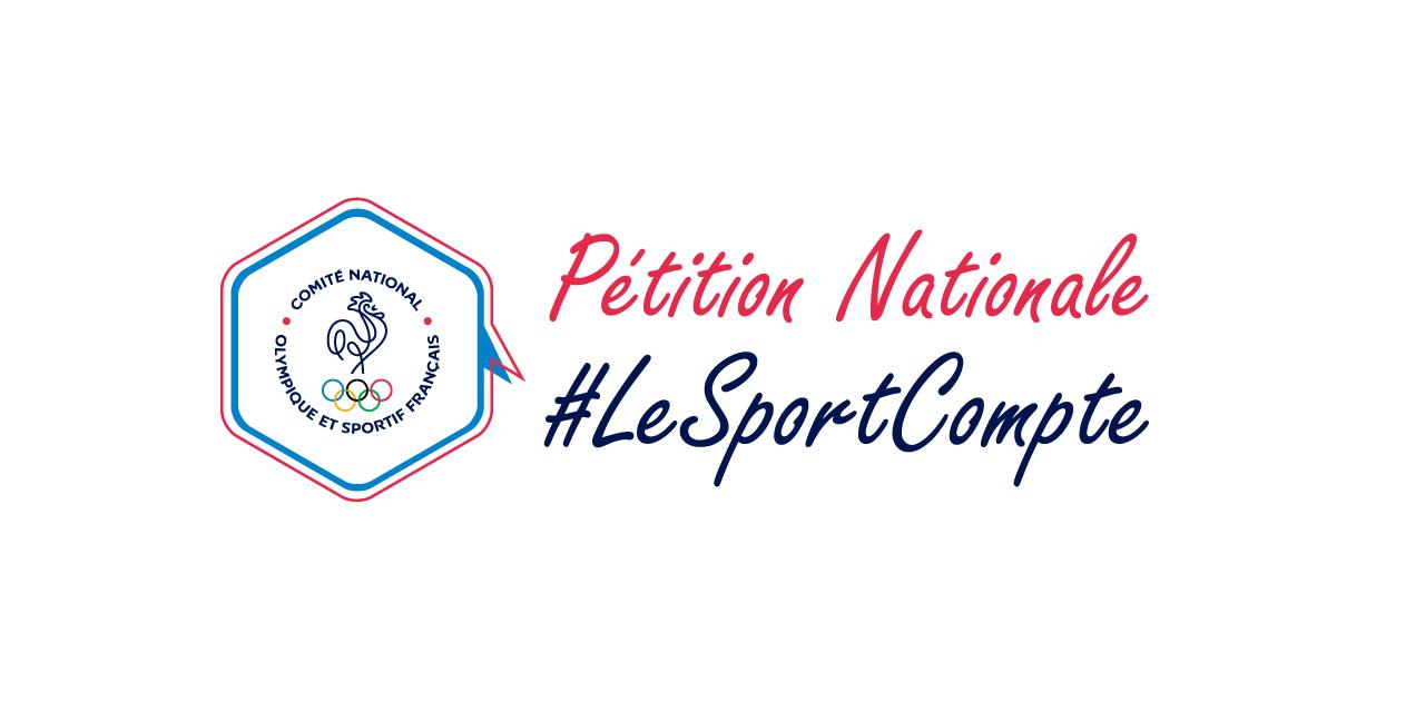 Pétition nationale #LeSportCompte