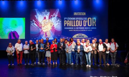 Les 14 récompensés des Paillou d'Or 2019
